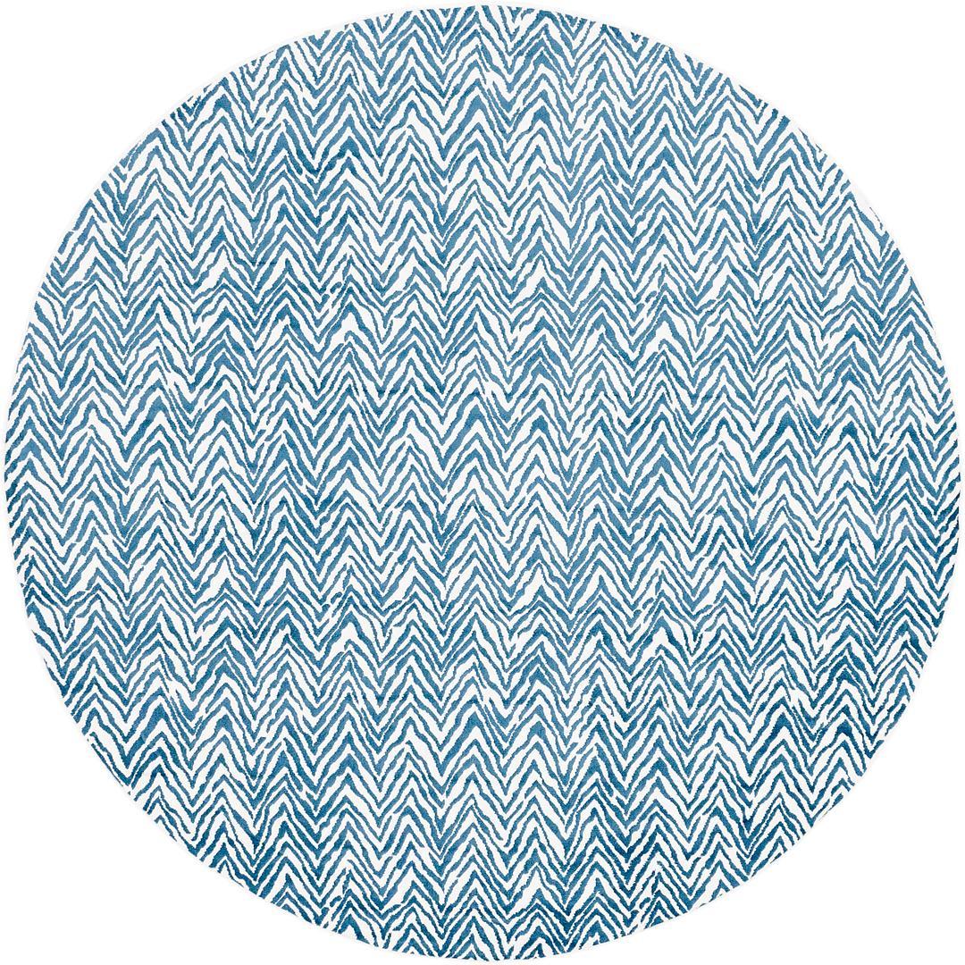 Blue 8 X 8 Outdoor Oasis Round Rug Area Rugs Irugs Uk