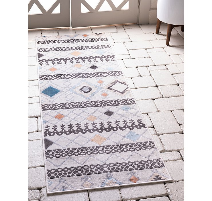 2' 2 x 6' Outdoor Haven Runner Rug