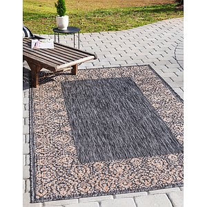 Link to 8' x 11' 4 Outdoor Border Rug item page