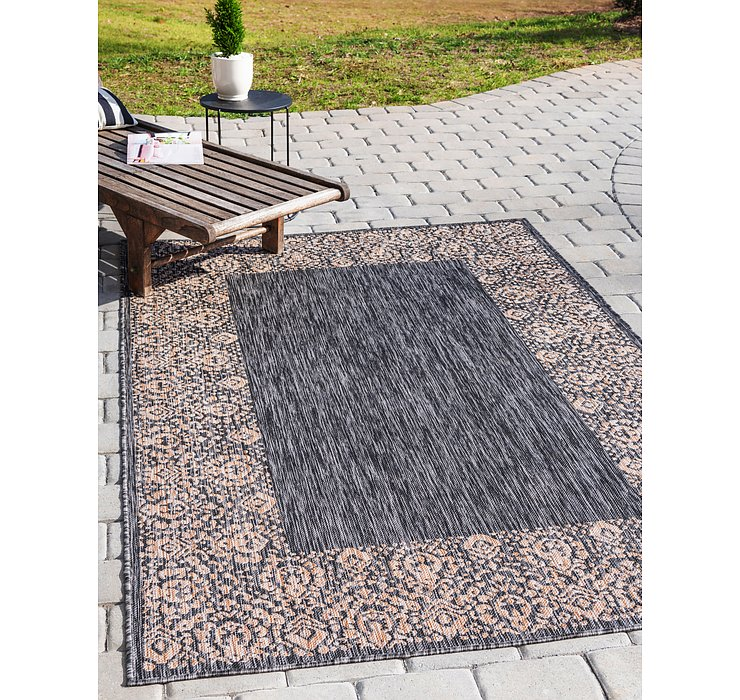 183cm x 275cm Outdoor Border Rug