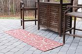 60cm x 183cm Outdoor Botanical Runner Rug thumbnail