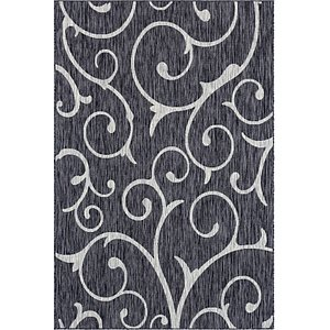 Link to 6' x 9' Outdoor Botanical Rug item page