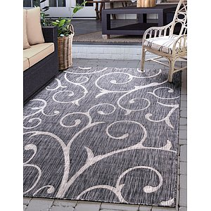 Link to 152cm x 245cm Outdoor Botanical Rug item page