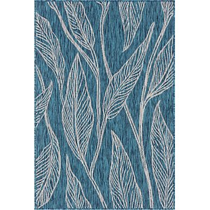 Link to 4' x 6' Outdoor Botanical Rug item page