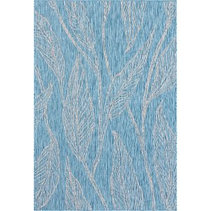 Link to 7' x 10' Outdoor Botanical Rug item page