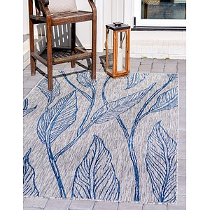 Link to 213cm x 305cm Outdoor Botanical Rug item page