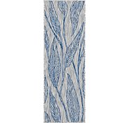 Link to 60cm x 183cm Outdoor Botanical Runner Rug