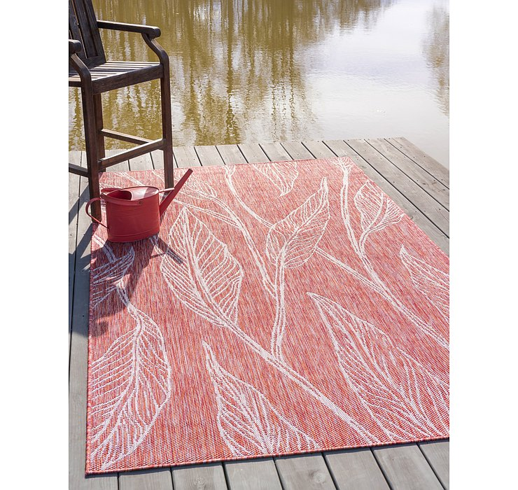 245cm x 345cm Outdoor Botanical Rug