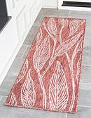 60cm x 183cm Outdoor Botanical Runner Rug thumbnail image 1