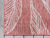 60cm x 183cm Outdoor Botanical Runner Rug thumbnail image 8