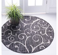 Link to 122cm x 122cm Outdoor Botanical Round Rug