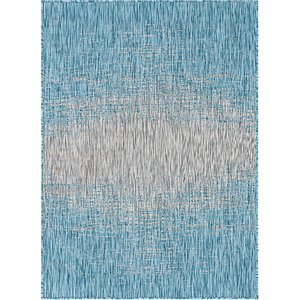 Link to 8' x 11' 4 Outdoor Modern Rug item page