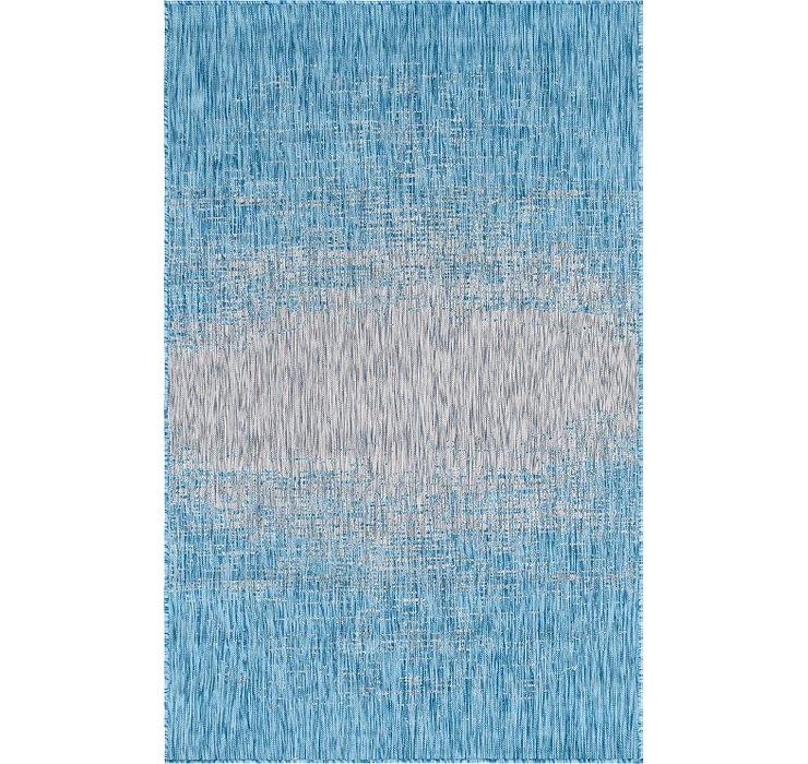 5' x 8' Outdoor Modern Rug