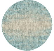 Link to 4' x 4' Outdoor Modern Round Rug