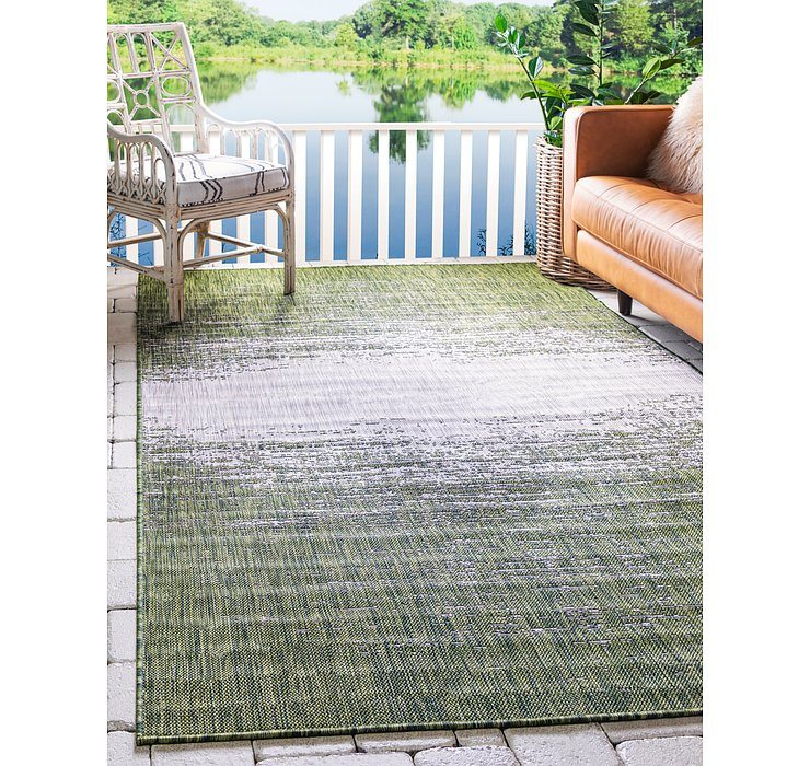 9' x 12' Outdoor Modern Rug