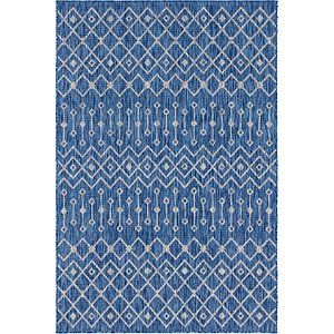 Link to 6' x 9' Outdoor Trellis Rug item page