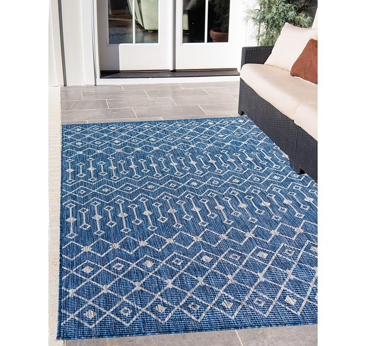 9' x 12' Outdoor Lattice Rug