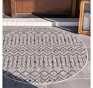 Link to 4' x 4' Outdoor Trellis Round Rug