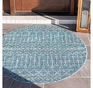 Link to 122cm x 122cm Outdoor Trellis Round Rug