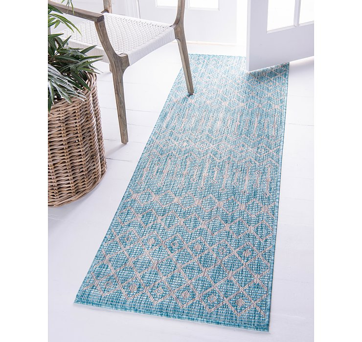 2' x 6' Outdoor Lattice Runner ...