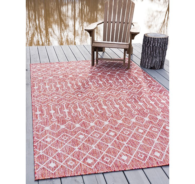 5' x 8' Outdoor Trellis Rug