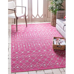 Link to 5' x 8' Outdoor Trellis Rug item page