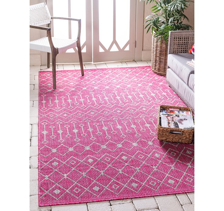 8' x 11' 4 Outdoor Lattice Rug