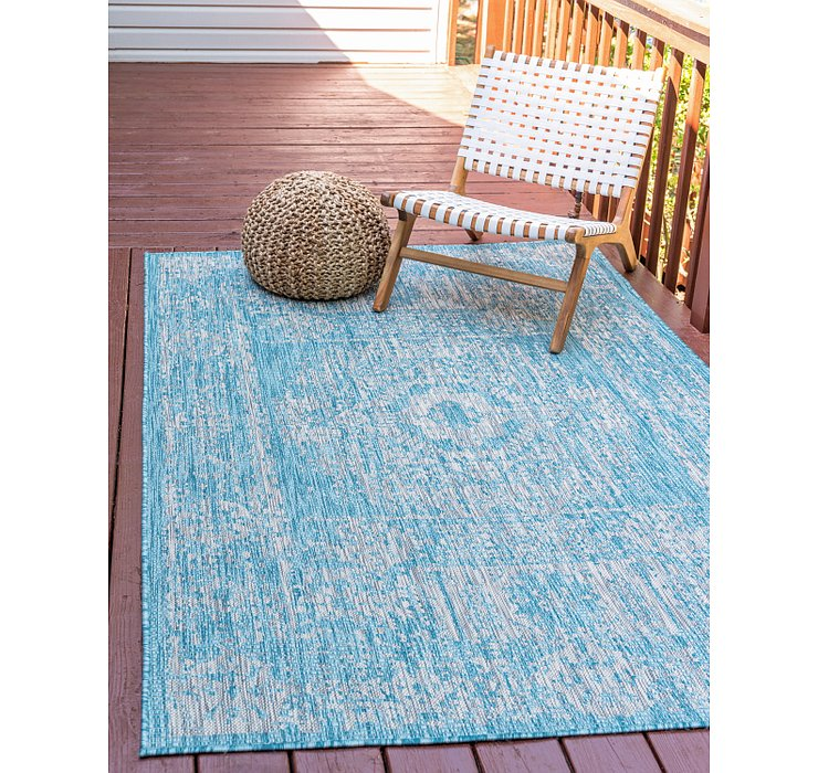 245cm x 345cm Outdoor Traditional Rug