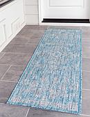 2' x 6' Outdoor Traditional Runner Rug thumbnail image 1
