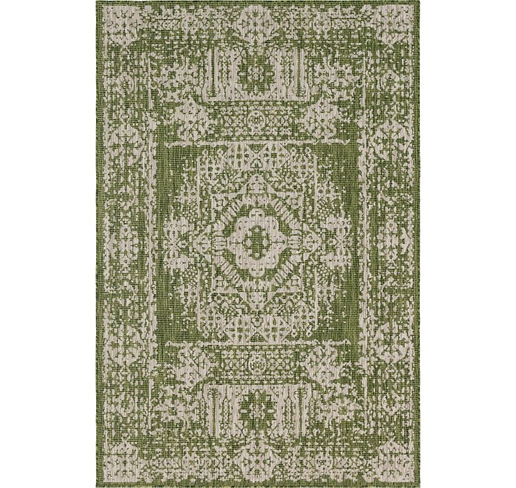 6' x 9' Outdoor Traditional Rug