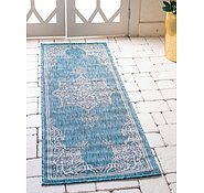 Link to 2' x 6' Outdoor Traditional Runner Rug