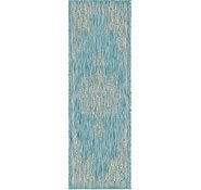 Link to 2' 2 x 6' Outdoor Traditional Runner Rug