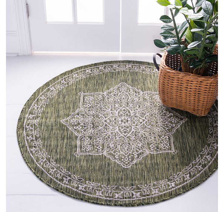 4' x 4' Outdoor Traditional Rou...