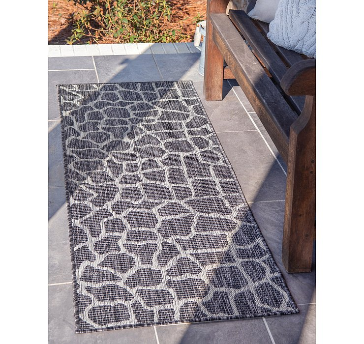 60cm x 183cm Outdoor Safari Runner Rug