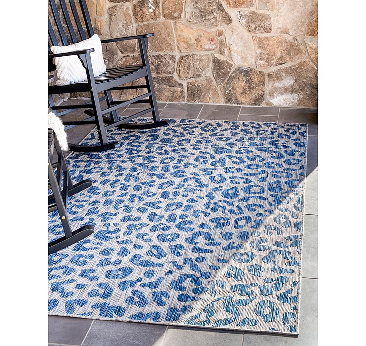 8' x 11' 4 Outdoor Safari Rug