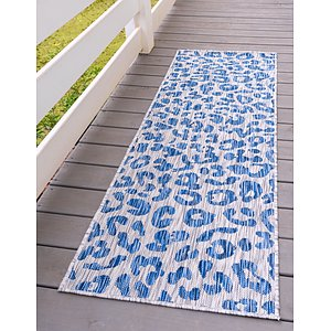 Link to 60cm x 183cm Outdoor Safari Runner Rug item page