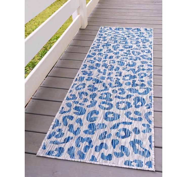 2' x 6' Outdoor Safari Runner Rug