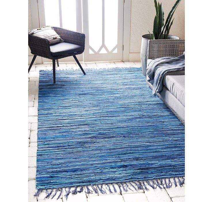 9' x 12' Chindi Cotton Rug