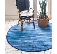 Link to 245cm x 245cm Chindi Cotton Round Rug