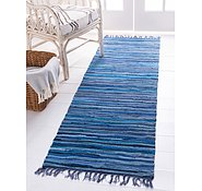 Link to 80cm x 200cm Chindi Cotton Runner Rug