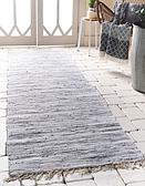 80cm x 300cm Chindi Cotton Runner Rug thumbnail image 1