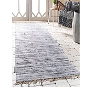 Link to 65cm x 200cm Chindi Cotton Runner Rug