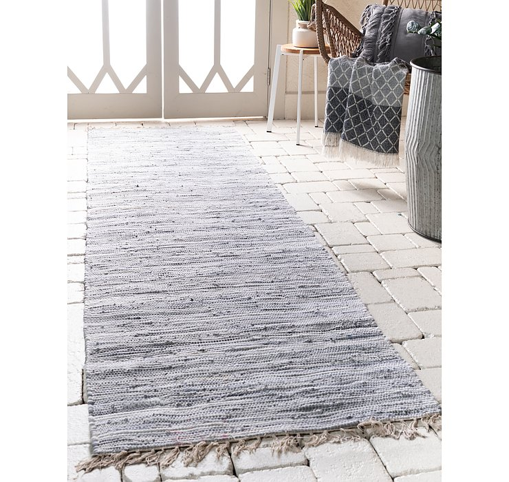 2' 2 x 6' 7 Chindi Cotton Runner Rug