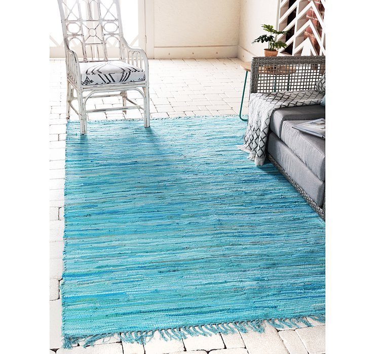 2' 2 x 3' Chindi Cotton Rug