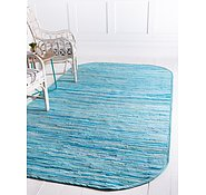 Link to 3' 3 x 5' Chindi Cotton Oval Rug