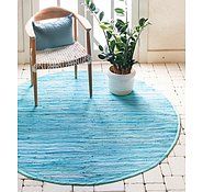 Link to 100cm x 100cm Chindi Cotton Round Rug