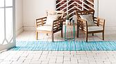 80cm x 300cm Chindi Cotton Runner Rug thumbnail image 3
