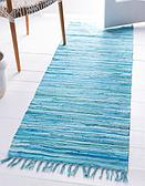 80cm x 300cm Chindi Cotton Runner Rug thumbnail image 12