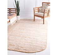 Link to 5' x 8' Chindi Cotton Oval Rug