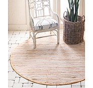 Link to 8' x 8' Chindi Cotton Round Rug